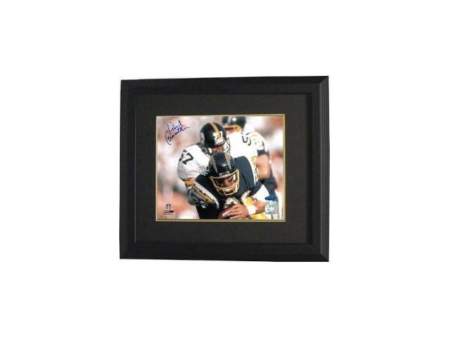 Mike Merriweather signed Pittsburgh Steelers 8x10 Photo- Tri-Star Hologram