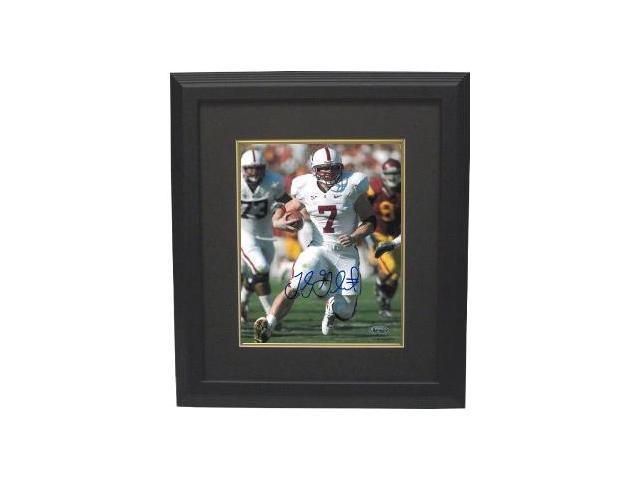 Toby Gerhart signed Stanford Cardinal 8x10 Photo Custom Framed