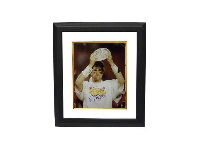Matt Leinart signed USC Trojans 16x20 Photo w/ Trophy Custom Framed- Leinart Hologram
