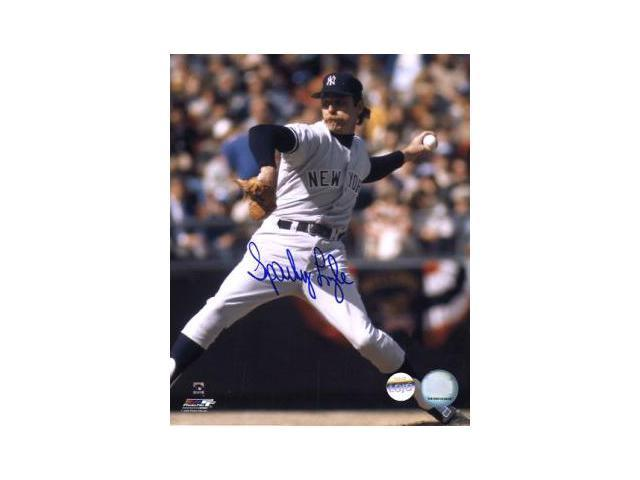 Sparky Lyle signed New York Yankees 8x10 Photo