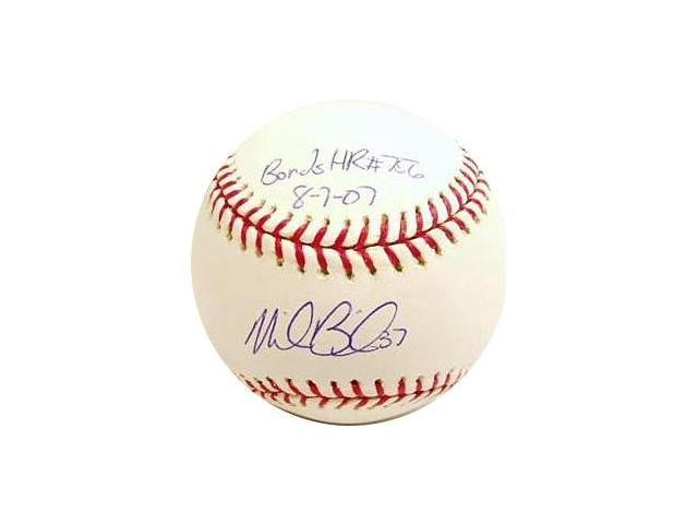 Mike Bacsik signed Bonds 756 Homerun Official Major League Baseball