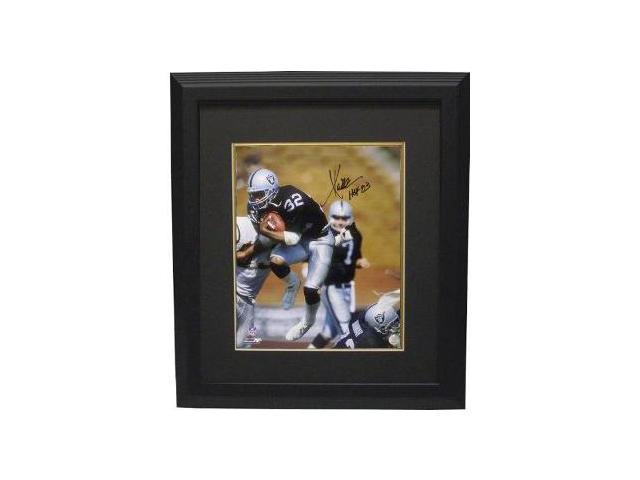 Marcus Allen signed Oakland Raiders 16x20 Photo HOF 03 Custom Framed- Allen Hologram