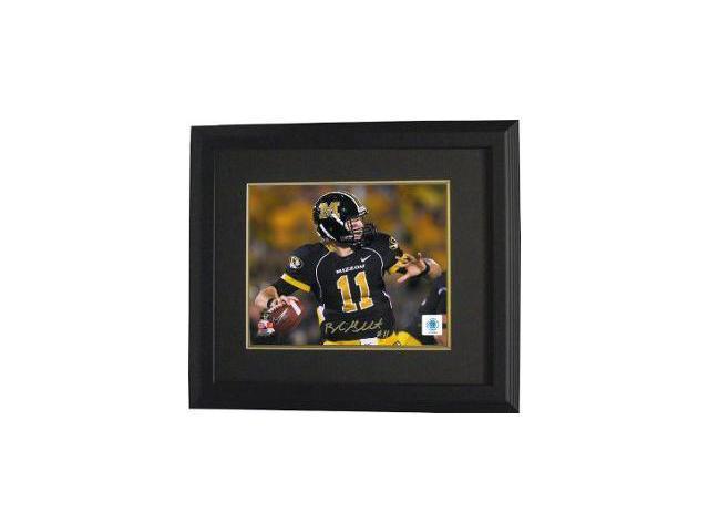 Blaine Gabbert signed Missouri Tigers 8X10 Photo Custom Framed