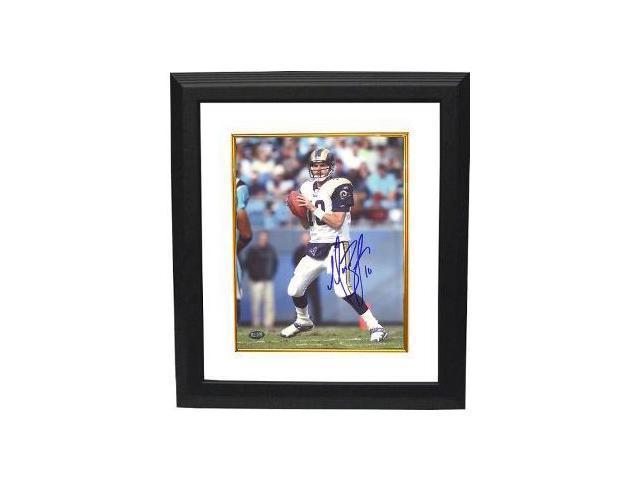 Marc Bulger signed St. Louis Rams 16X20 Photo Custom Framed
