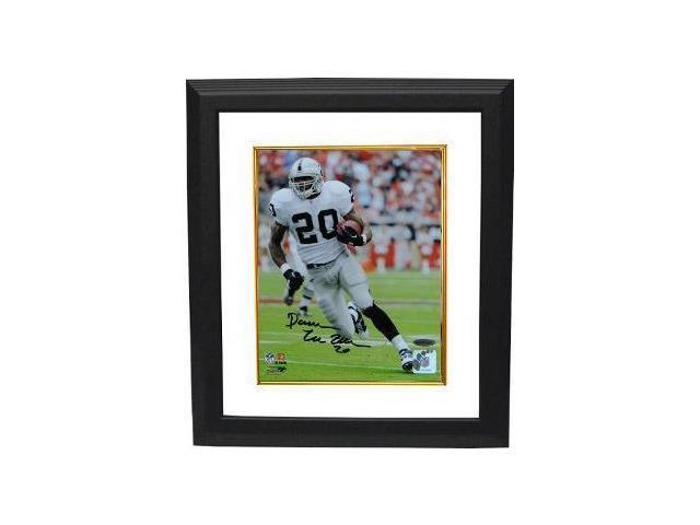Darren McFadden signed Oakland Raiders 8x10 Photo Custom Framed- UDA Hologram