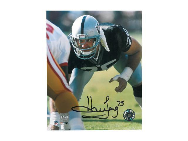 Howie Long signed Oakland Raiders 8x10 Photo
