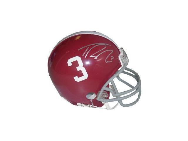 Trent Richardson signed Alabama Crimson Tide #3 Mini Helmet