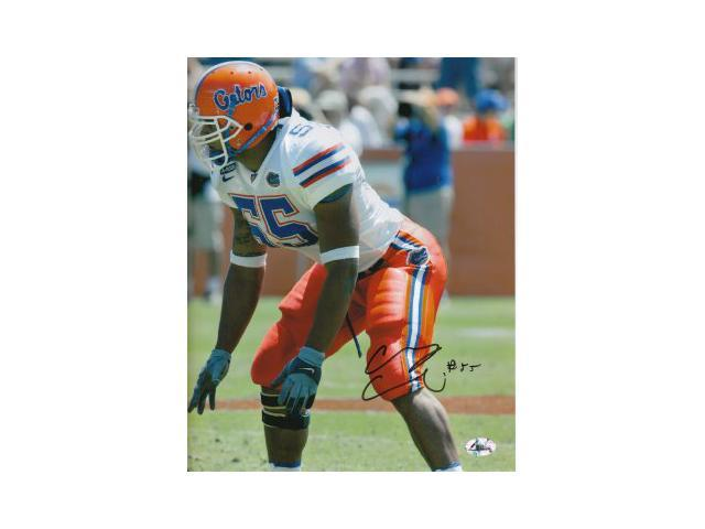 Channing Crowder signed Florida Gators 8x10 Photo