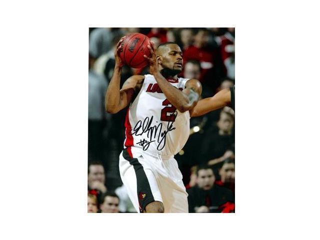 Ellis Myles signed Louisville Cardinals 8x10 Photo