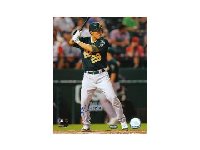Kurt Suzuki signed Oakland A's 8x10 Photo