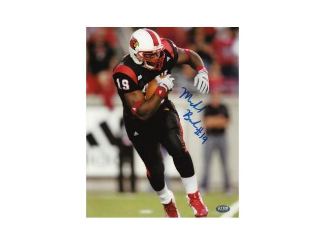 Michael Bush signed Louisville Cardinals 8x10 Photo