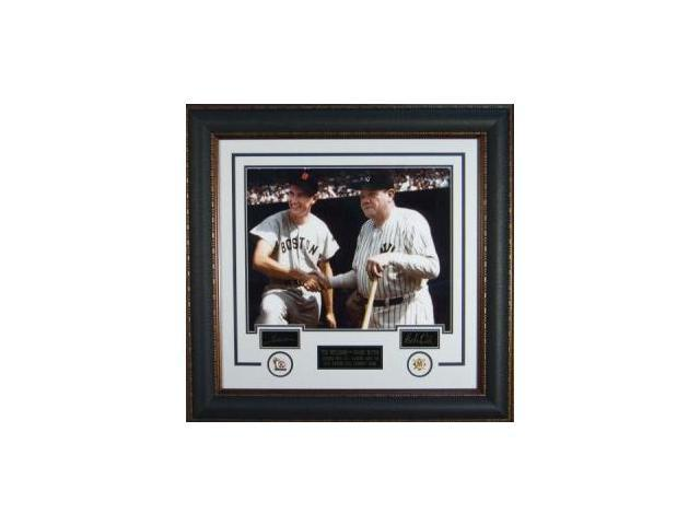 Babe Ruth unsigned 27x39 Engraved Signature Series w/Williams