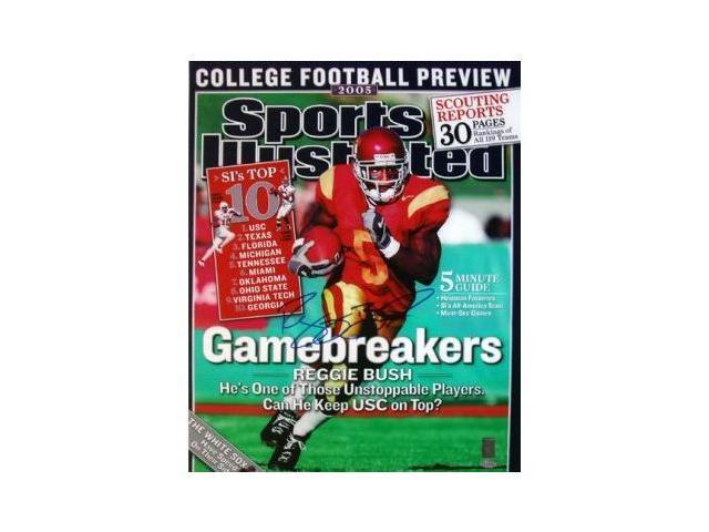 Reggie Bush signed USC Trojans Sports Illustrated 16x20 Photo
