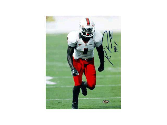 Roscoe Parrish signed Miami Hurricanes 8x10 Photo