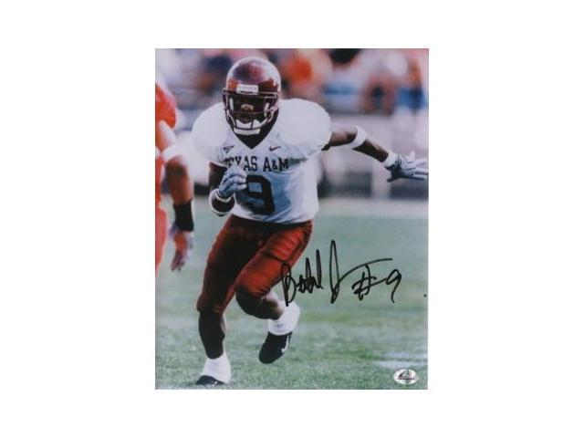 Bethel Johnson signed Texas A&M Aggies 8x10 Photo
