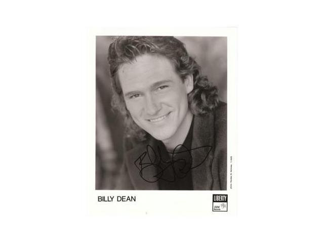 Billy Dean signed 8x10 Photo
