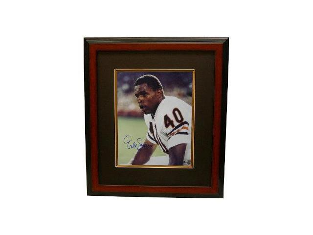 Gale Sayers signed Chicago Bears 16x20 Photo Custom Framed- Sayers Hologram