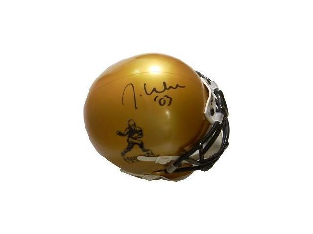 Jason White signed Heisman Gold Authentic Schutt Mini Helmet '03