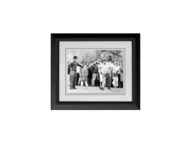 Jackie Gleason unsigned 16x20 Custom Framed w/ Palmer