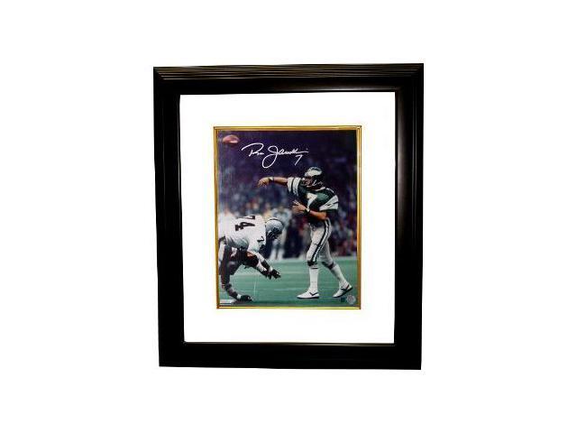 Ron Jaworski signed Philadelphia Eagles 16x20 Photo Custom Framed