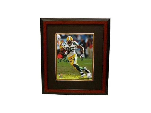 Ryan Grant signed Green Bay Packers 8x10 Photo Custom Framed