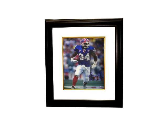 Thurman Thomas signed Buffalo Bills 16x20 Photo Custom Framed 1991 MVP