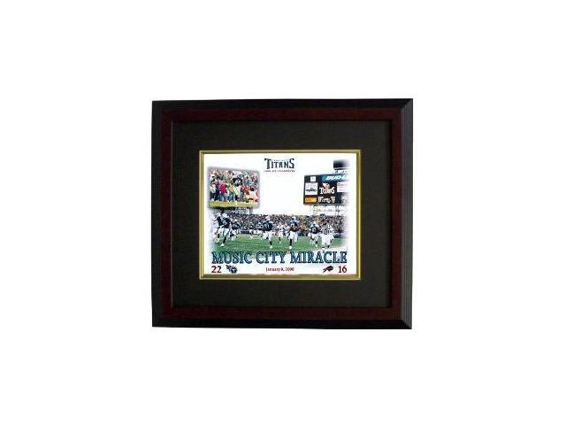 Music City Miracle unsigned Tennessee Titans 16X20 Photo Custom Framed
