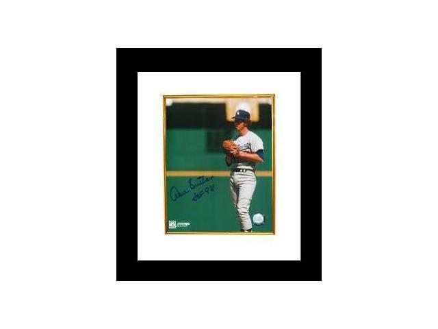 Don Sutton signed Los Angeles Dodgers 8x10 Photo Custom Framed HOF98