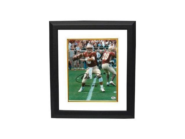 Chris Rix signed Florida State Seminoles 8x10 Photo Custom Framed