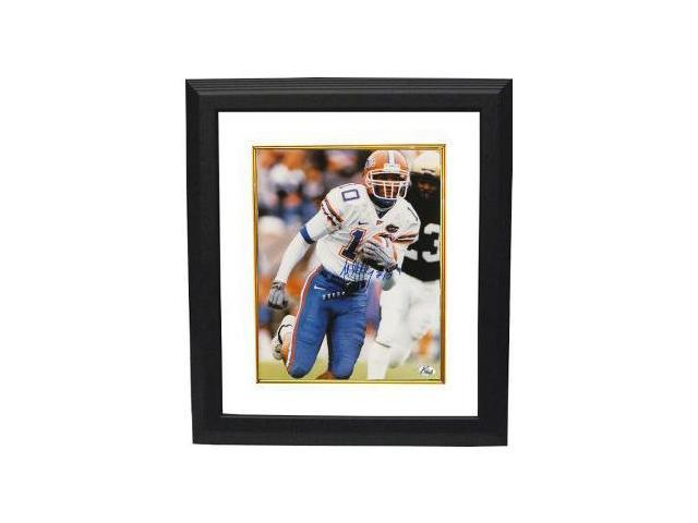 Jabar Gaffney signed Florida Gators 8x10 Photo Custom Framed