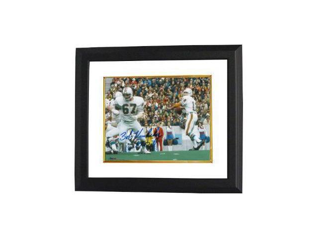 Bob Kuechenberg signed Miami Dolphins 8x10 Photo Custom Framed 17-0