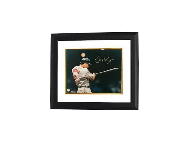 Cal Ripken, Jr. signed Baltimore Orioles 11X14 At Night Photo Custom Framed- MLB Hologram
