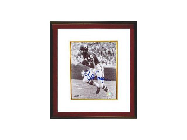 Gale Sayers signed Chicago Bears 8x10 Photo Custom Framed- Sayers Hologram