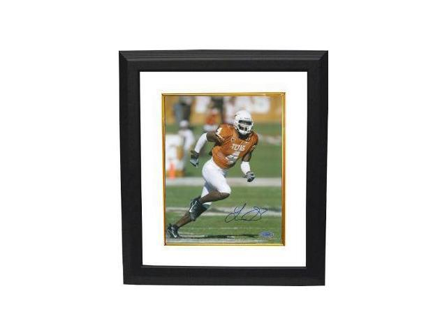 Limas Sweed signed Texas Longhorns 8x10 Photo Custom Framed- Tri Star Hologram