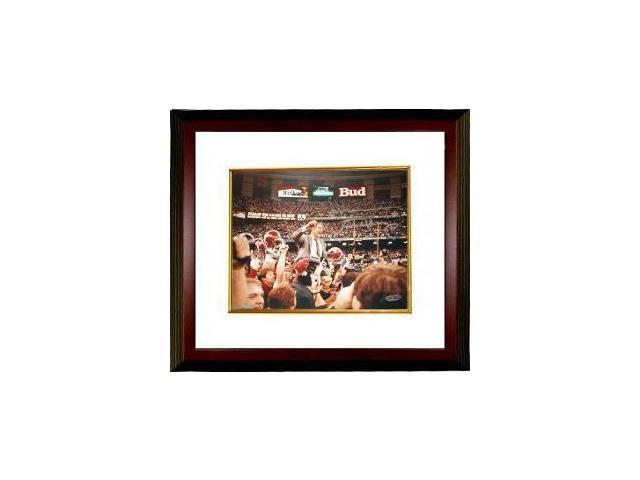 Gene Stallings signed Alabama Crimson Tide 8X10 Photo Custom Framed- Steiner Hologram