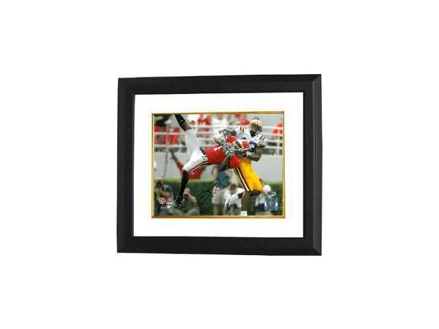 Reggie Brown signed Georgia Bulldogs 8x10 Photo Custom Framed
