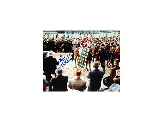 Seabiscuit signed Horse Racing Winners Circle from Seabiscuit Movie 16X20 Photo- Steiner Hologram