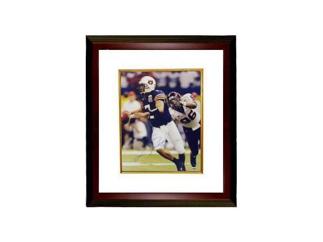 Jason Campbell signed Auburn Tigers 16x20 Photo Custom Framed