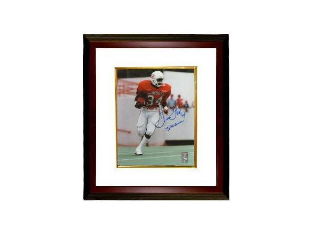 Thurman Thomas signed Oklahoma State Cowboys 8x10 Photo Custom Framed 2 x All American
