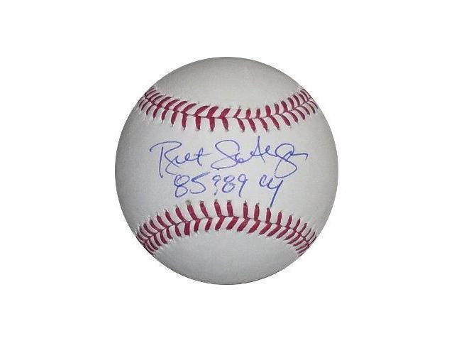 Bret Saberhagen signed Official Major League Baseball 85 & 89 CY