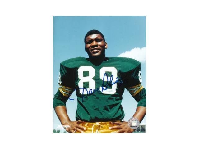 Dave Robinson signed Green Bay Packers 8x10 Photo- minor ding