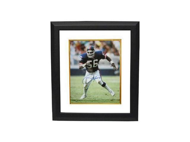 Lawrence Taylor signed New York Giants 16X20 Photo Custom Framed