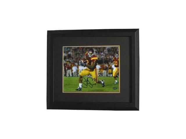 Steve Smith signed USC Trojans 8x10 Photo Custom Framed