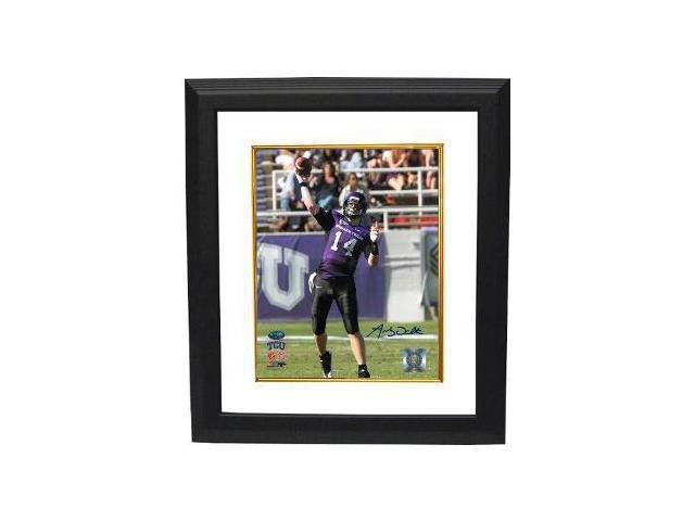 Andy Dalton signed TCU Horned Frogs 8x10 Photo Custom Framed- Dalton Hologram