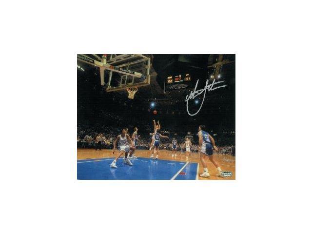 Christian Laettner signed Duke Blue Devils Horizontal 8x10 Photo 1992 The Shot vs Kentucky ...