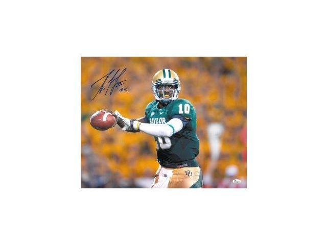 Robert Griffin III signed Baylor Bears 16x20 Photo (Heisman) (front view)- JSA Hologram