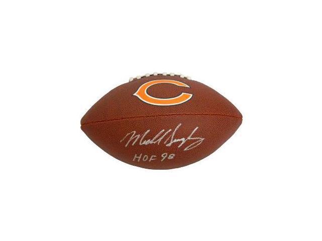 Mike Singletary Signed (Full Name Sig) Chicago Bears Riddell F/S ...