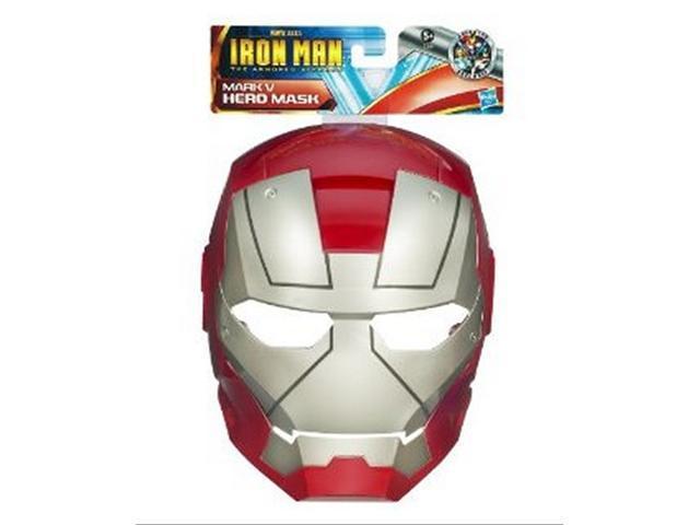 Marvel Iron Man 2 Movie Mark V Hero Mask Roleplaying Toy