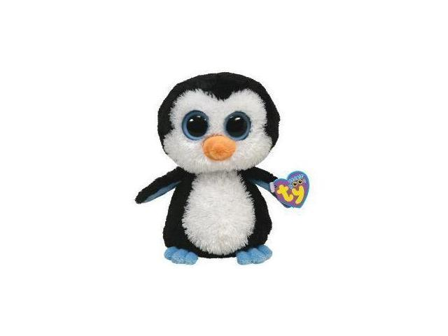 TY Plush Beanie Boos Buddy WADDLES 12'' Penguin