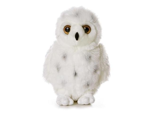 Aurora 12'' Plush SNOWY Flopsie White Snow Owl